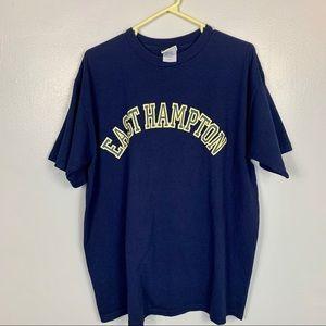 Vintage 90s East Hampton Breezin Up T-shirt